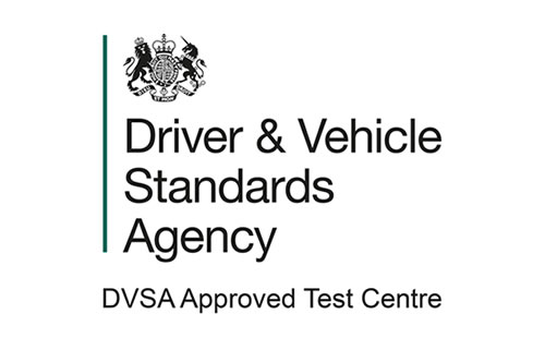 driver & vehicle standards agency, dvsa approved test centre logo