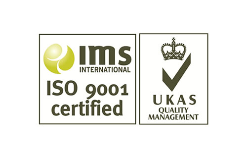ims international iso 9001 certified logo