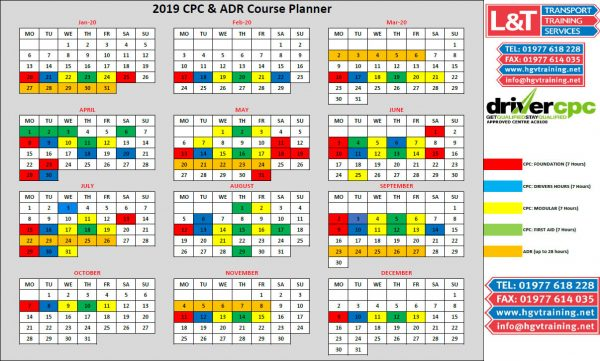 An image of the date planner PDF