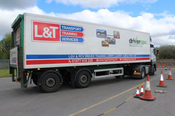 category c+e (artic) driver training hgv reversing