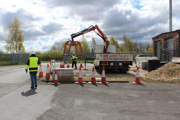 HIAB Lorry Loader Signaller Training In Pontefract, Yorkshire
