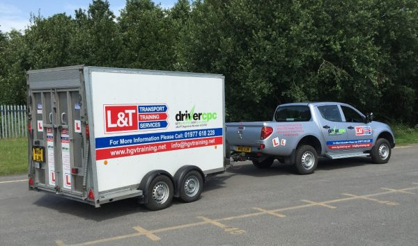 Category B+E (Car & Trailer) Driver Training In Pontefract, Yorkshire